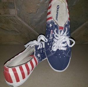 Superga Flag Sneaker